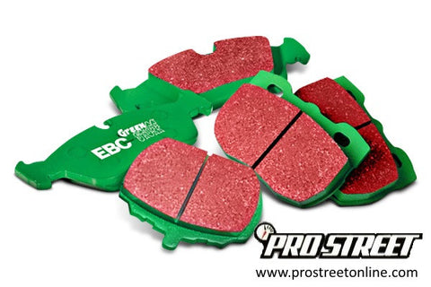 1958-1960 MG MGA Rear EBC Greenstuff Sport brake pads
