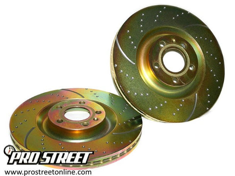 1989-1992 Mitsubishi Eclipse EBC Rear Sport Rotor Kit