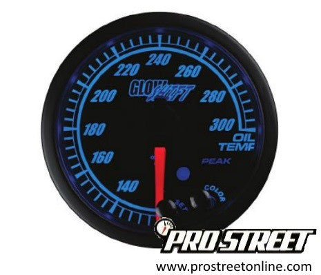 Glow Shift Elite Oil Temperature Gauge