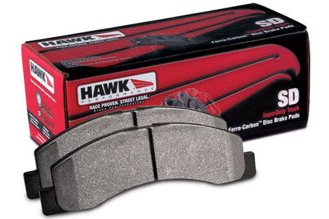 1999-2000 Chevrolet Silverado Rear Hawk Super Duty Brake Pads