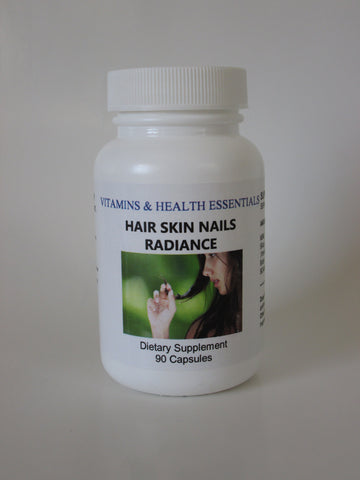 HAIR SKIN NAILS RADIANCE Dietary Supplement, 60-count Capsules