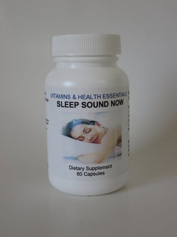 SLEEP SOUND NOW Dietary Supplement, 60-count Capsules