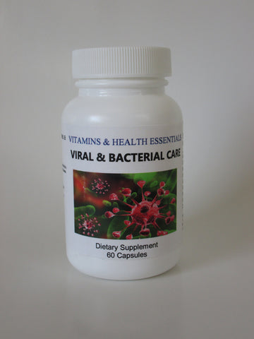 VIRAL & BACTERIAL CARE Dietary Supplement, 60-count Capsules
