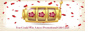 Feeling Lucky?! Win A $100 Promotional Gift Card!