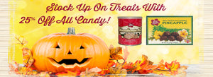 No Tricks, 25% Off Treats