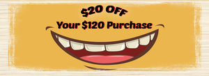 Smile With $20 OFF!