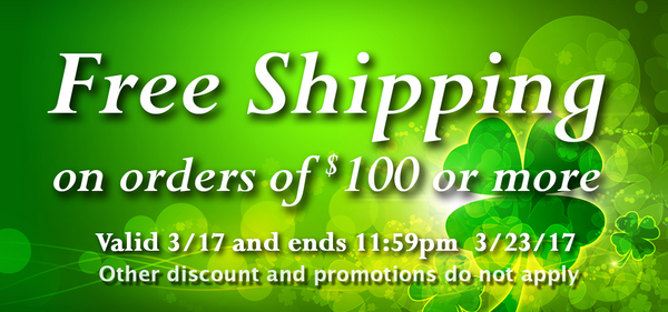 Free Shipping With $100 Spend