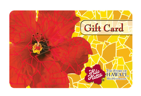Hilo Hattie Gift Card