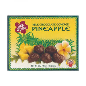 Pineapple Covered Chocolate