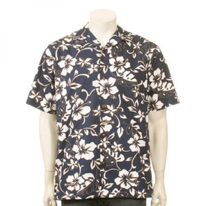 """The Hawaiian Original"" Classic Hibiscus Aloha Shirt"