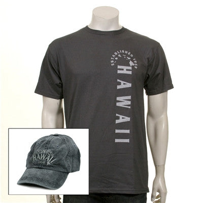 Men's Established Hawaii Cap and Tee Combo