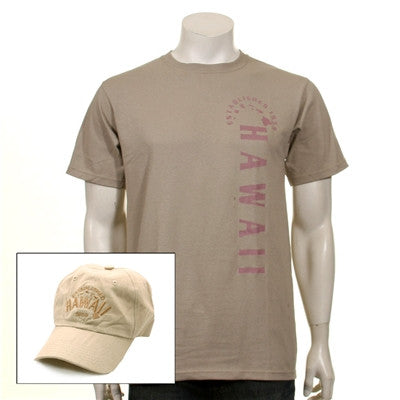 Men's Established Hawaii Cap and Tee Combo ~ 111306