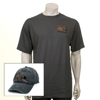 Men's Honu/Islands Cap and Tee Combo