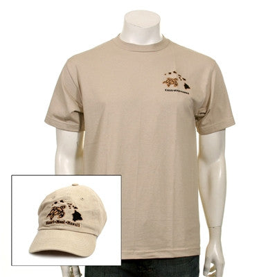 Men's Honu/Islands Cap and Tee Combo - 118410