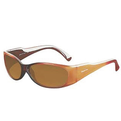 """Club Jetty"" Caramel Polarized Brown Women's Sunglasses"