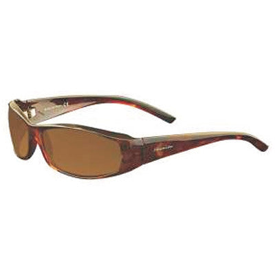 """Akamai"" Tortoise Polarized Brown Unisex Sunglasses"
