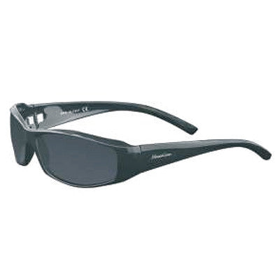"""Akamai"" Black Polarized Gray Unisex Sunglasses"