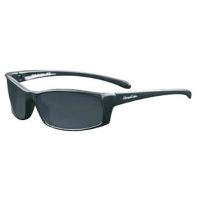 """Endemic"" Black Polarized Gray Unisex Sunglasses"