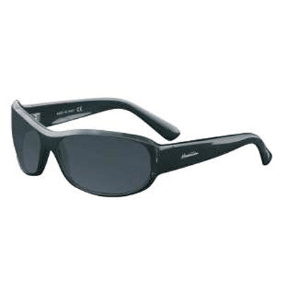 """Primo"" Black Polarized Gray Unisex Sunglasses"