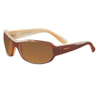"""Primo"" Cappuccino Polarized Brown Unisex Sunglasses"
