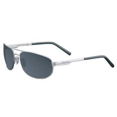 """Archipelago"" Gun Metal Polarized Gray Unisex Sunglasses"