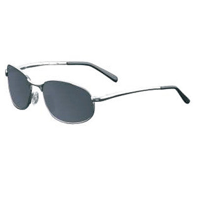 """Ko'olau"" Silver Polarized Gray Unisex Sunglasses"