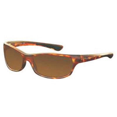 """Paddler"" Matte Tortoise Polarized Brown Unisex Sunglasses"