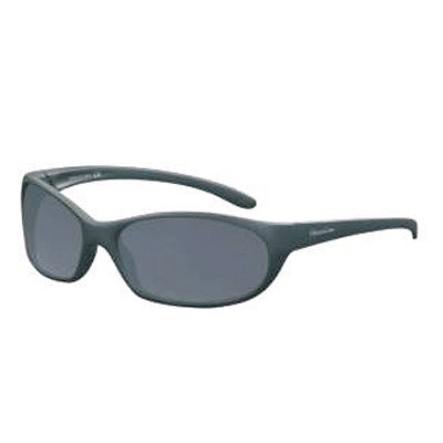 """Islander"" Matte Black Polarized Gray Unisex Sunglasses"