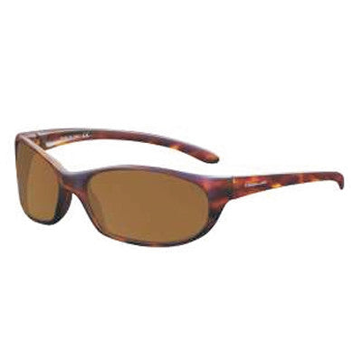 """Islander"" Matte Tortoise Polarized Brown Unisex Sunglasses"