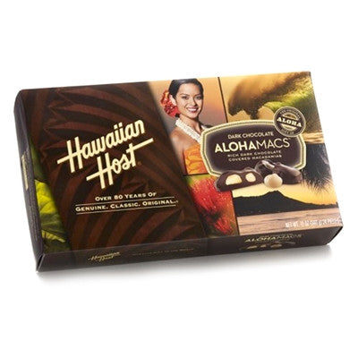 Hawaiian Host Dark Chocolate AlohaMacs~6oz