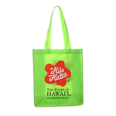 Hilo Hattie Logo Eco Tote Bag-Green