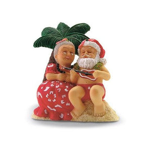 Serenading Santa Ornament-13033