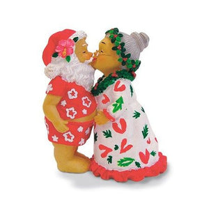 Kissing Santa Ornament - 13039