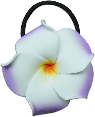LILAC WHITE - SMALL FOAM FLOWER PONY O'S