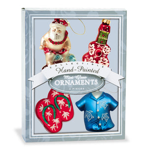 Tropical Holiday Mini Ornament Set - 13637