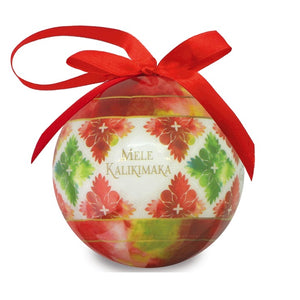 ORNAMENT PAPER BALL - QUILTED HOLIDAYS - 15216