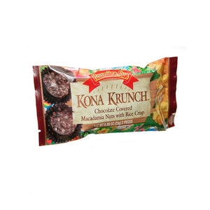 Hawaiian Sun Kona Crunch Whole Macadamia Nuts - 2 piece