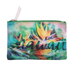 Bird Of Paradise Pouch Bag - Large