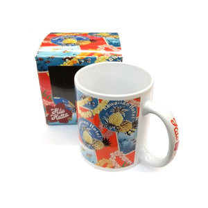 2018 Collection! Brand New! Hilo Hattie Pineapple Orange Mug-09826