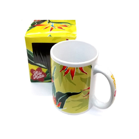 2018 Collection! Brand New! Hilo Hattie Bird Of Paradise Mug-09824