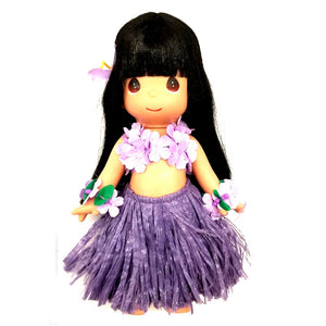 Hilo Hattie Exclusive Precious Moments Doll - Ipo Purple