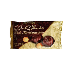 Hawaiian Sun Dark Chocolate Whole Macadamia Nuts - 2 piece
