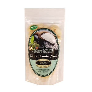 Ahualoa Farms Sea Salt Macadamia Nuts 4 oz (50026)