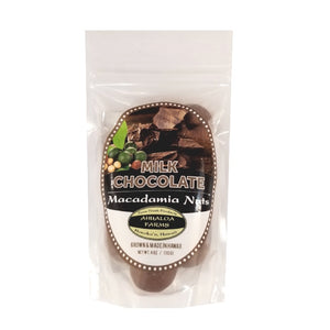 Ahualoa Farms Milk Chocolate Covered Macadamia Nuts 4 oz (50032)