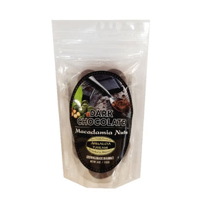 Ahualoa Farms Dark Chocolate Macadamia Nuts 4 oz (50030)