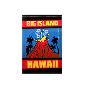Aloha Glass Magnet  - Big Island