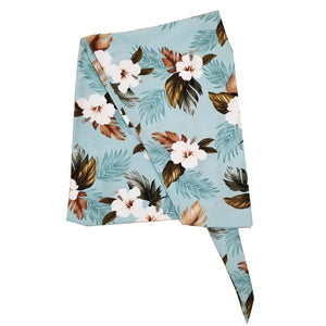 Made In Hawaii Hawaiian Sarong Large - Turquoise