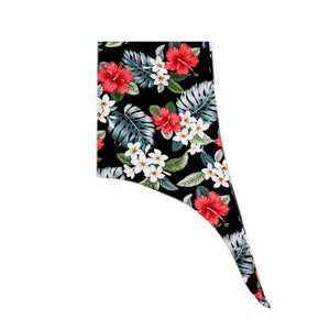 Made In Hawaii Hawaiian Sarong Large - Black