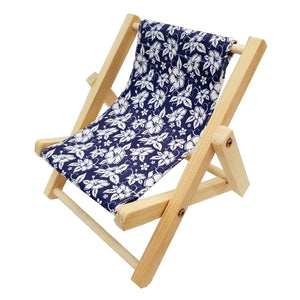 Cell Phone Lounge Chair - Hibiscus Blue (HR08HB)