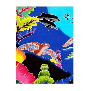 HALEIWA SARONG #5 - Under Sea World